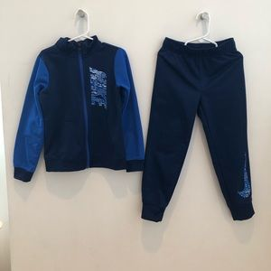 NEW NIKE Boys Blue Tracksuit Size 6 M